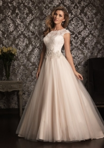 9022 by Allure Bridal wedding dress from Lori G Derby