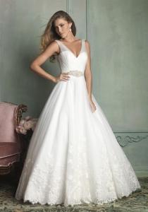 Wedding Dress 9124 by Allure Bridal from Lori G Bridal Derby