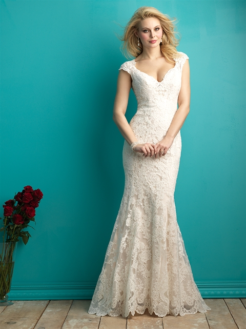 9264 by Allure Bridal from Lori G Derby