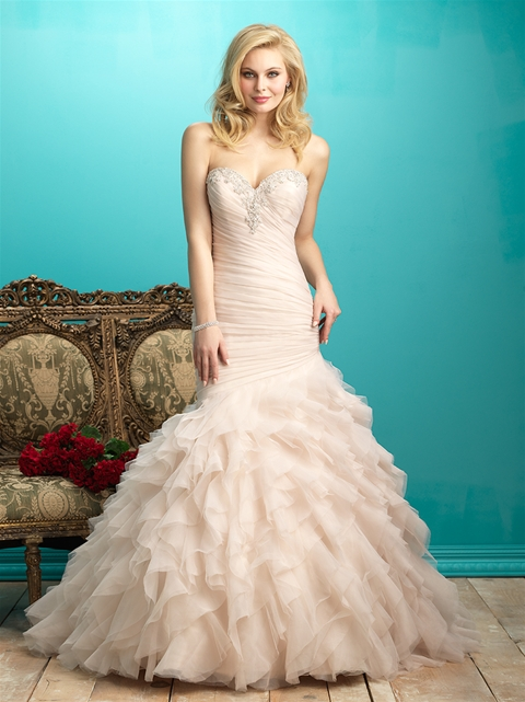 9267 by Allure Bridal from Lori G Derby