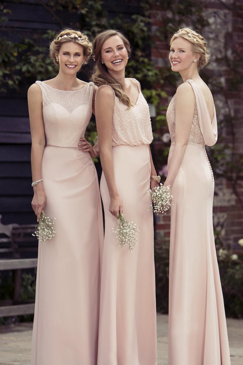 True Bride Bridesmaid Dresses