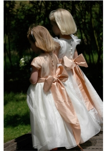 Esme by Nicki Macfarlane from Lori G Derby bridesmaid flower girl dress