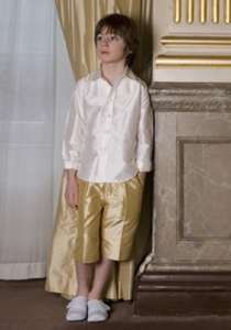 French Short by Nicki MacFarlane from Lori G Derby page boy outfits