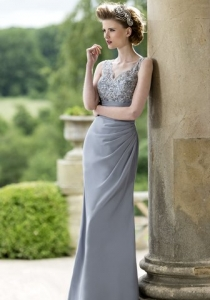 M594 by True Bride from Lori G Derby Bridesmaids dresses