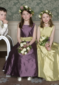 Pageboys and Flower Girls by Nicki MacFarlane from Lori G Derby dresses