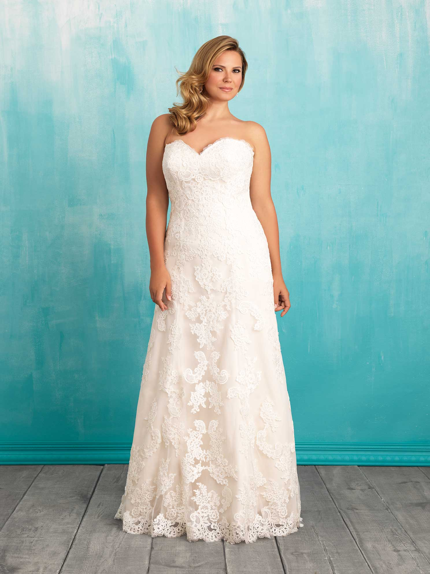 Lori G Wedding Dresses : W by allure bridal from lori g derby