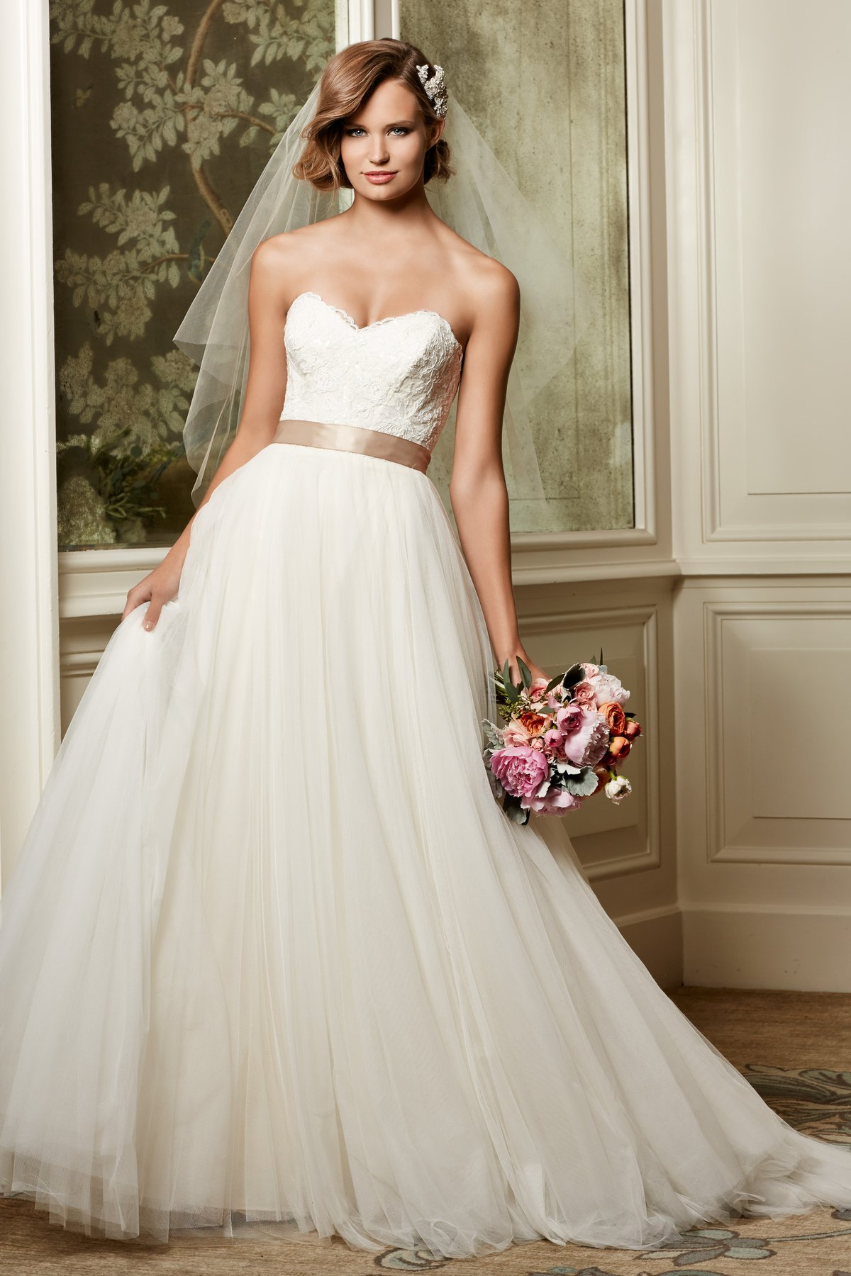 Wedding dresses lori g bridal for Wedding dresses by watters