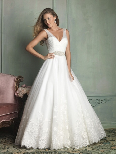 9124 by Allure Bridal from Lori G Derby