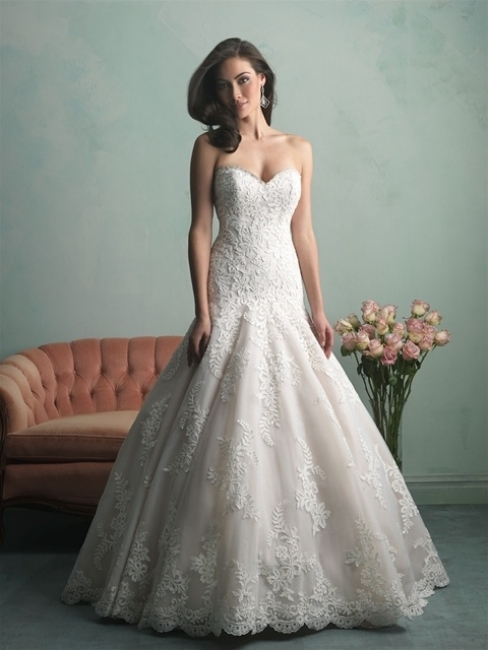 9159 by Allure Bridal from Lori G Derby