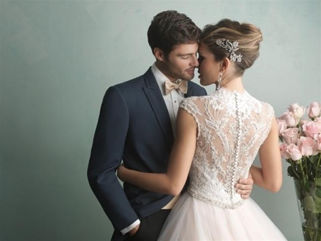 9162 by Allure wedding dress from Lori G Bridal Shop Derby