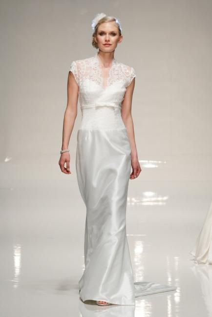 Estelle Sample Sale Wedding Dress Lori G Derby