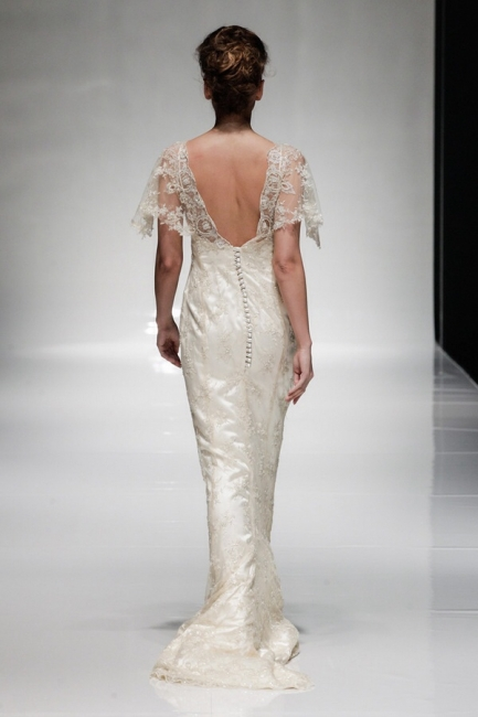 Tara by Alan Hannah (back view) from Lori G Bridal Derby