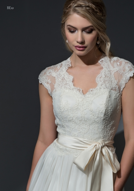 Theodora by Louise Bentley from Lori G Derby wedding dress shop