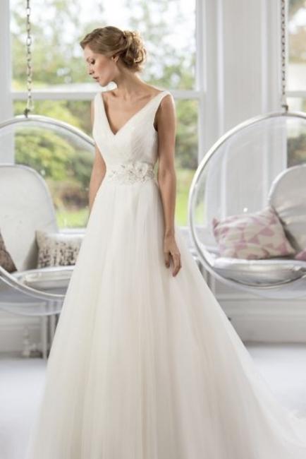 W141 by True Bride wedding dress from Lori G Derby