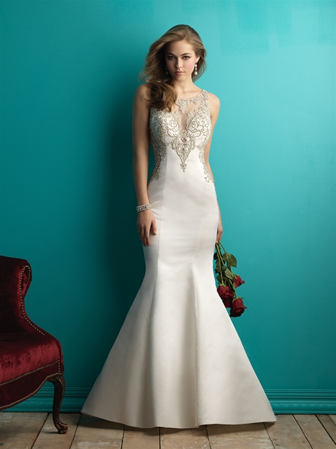 9252 by Allure Bridal from Lori G Derby