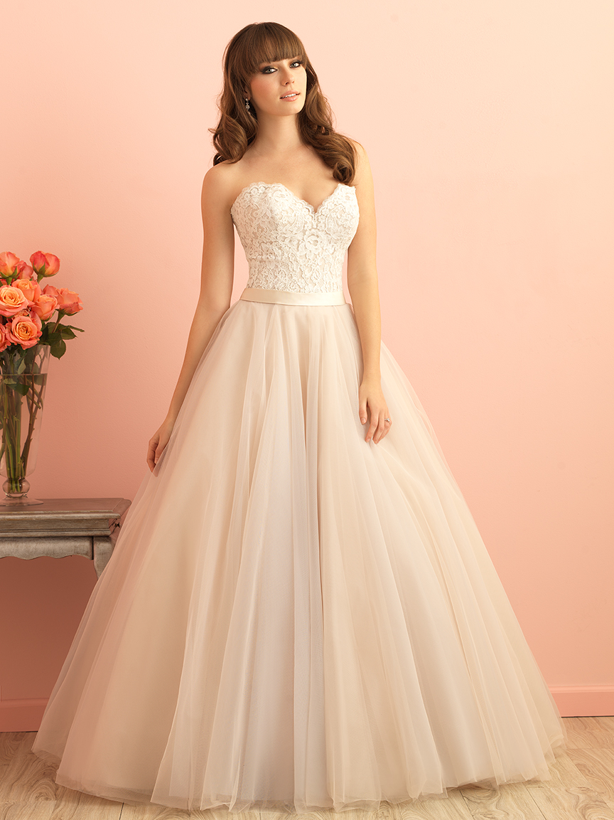 2853 by Allure Bridal from Lori G Derby