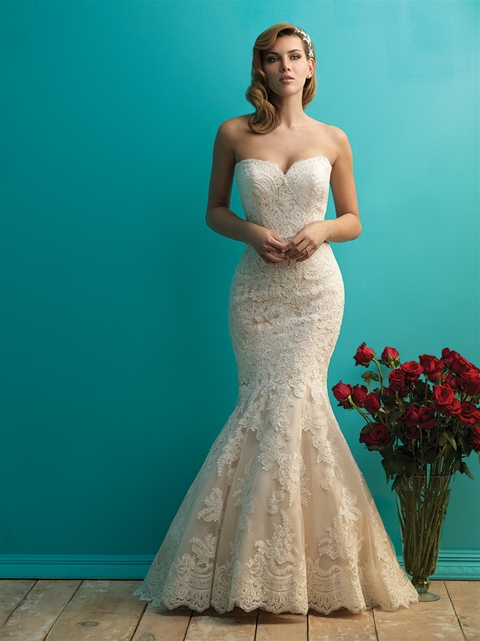 9250 by Allure Bridal from Lori G Derby