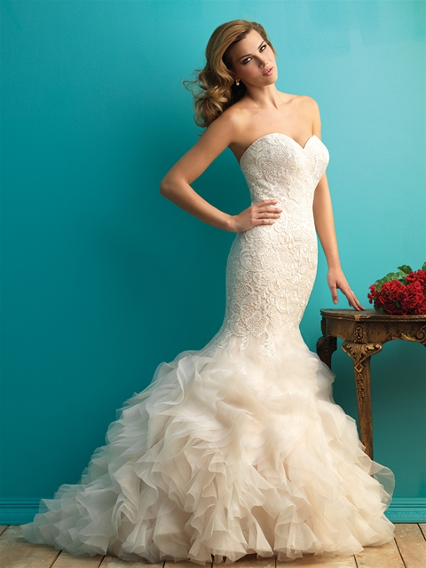 9254 by Allure Bridal from Lori G Derby