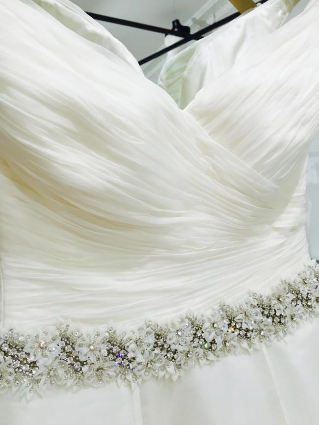 Lela Sample Sale Wedding Dress Lori G Derby