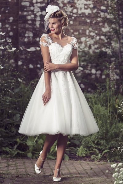Demi from Brighton Belle Lori G Derby Wedding Dresses
