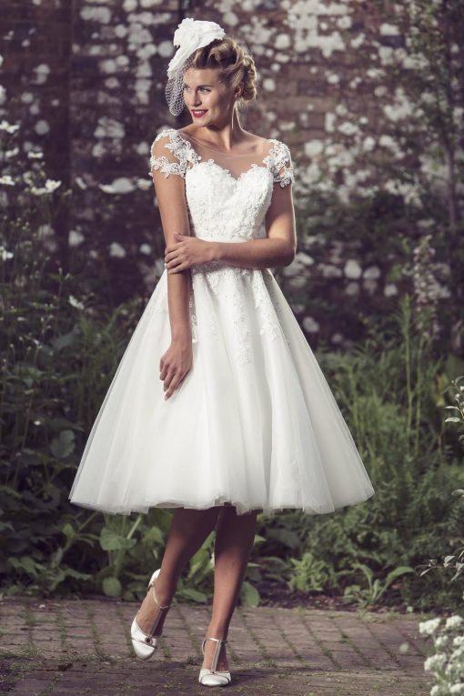 Demi from Brighton Belle Lori G Derby Wedding Dresses