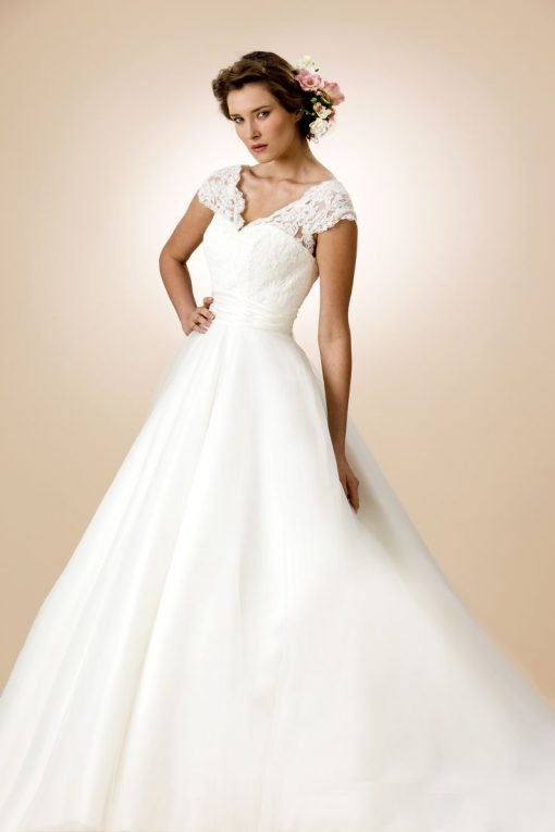 style wedding dress 101 lori G Bridal Derby