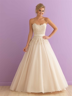 2908 by Allure Bridal from Lori G Derby