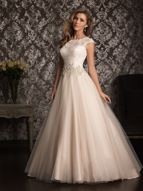 9022 by Allure Bridal wedding dress from Lori G Derby