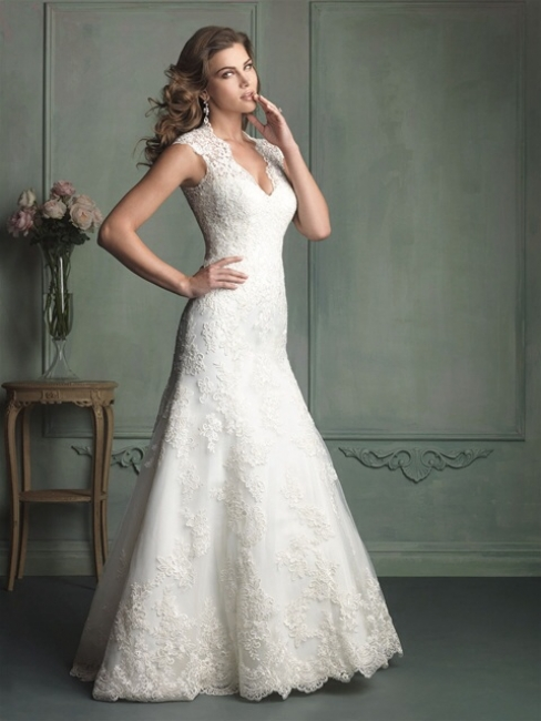 9113 by Allure Bridal from Lori G Bridal Wedding Dress Shop Derby
