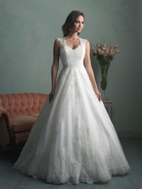 9166 by Allure Bridal from Lori G Bridal Derby