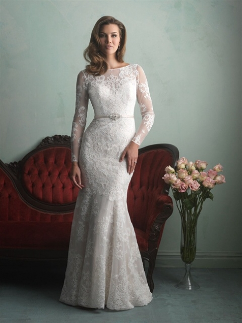 9167 by Allure from Lori G Derby Wedding Dresses