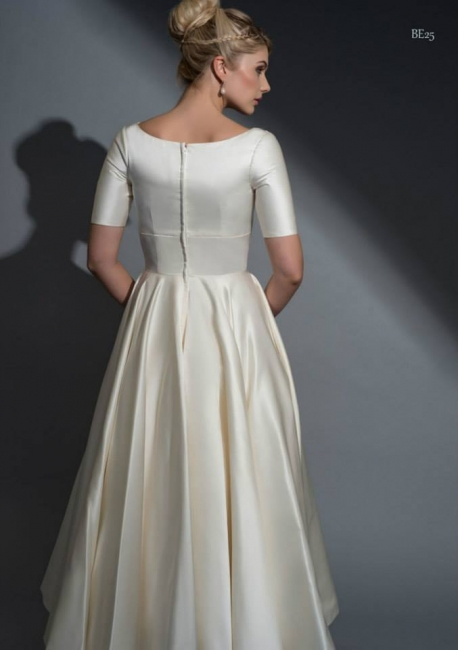 Adelaide by Louise Bentley back wedding dress from Lori G Derby