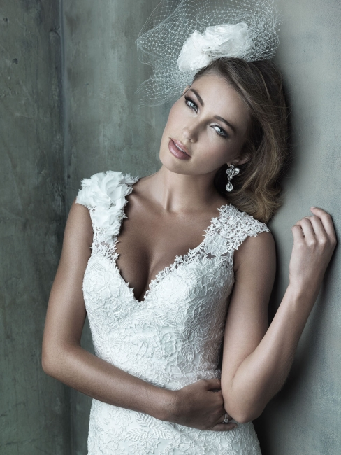 C287 by Allure Bridal from Lori G Derby Wedding Dress