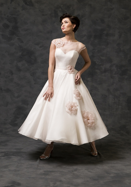 Loretta by Lyn Ashworth from Lori G Derby Wedding Dress