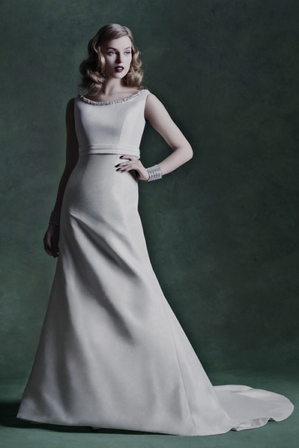 Melissa by Alan Hannah Wedding Dress from Lori G Derby