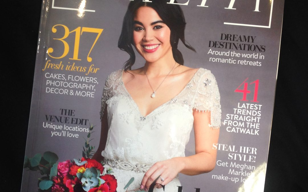 True Bride featuring on the front page of Confetti Magazine