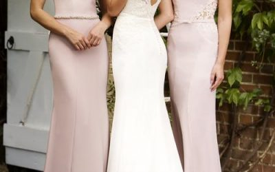 True Bride Bridesmaids at Lori G Bridal in Derby