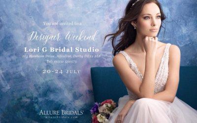 Allure Bridal Trunk Show Weekend At Lori G Bridal Derby
