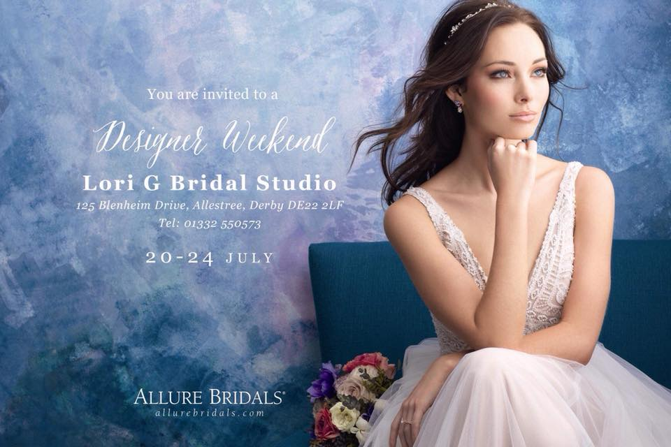 Allure Bridal Trunk Show Weekend At Lori G Bridal Derby