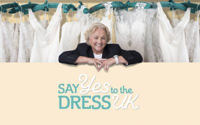 Jess from @loveisland on Say Yes to The Dress UK @dandolondon @lorigbridal