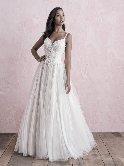 Allure Bridals Lori G Derby wedding dress style 3257