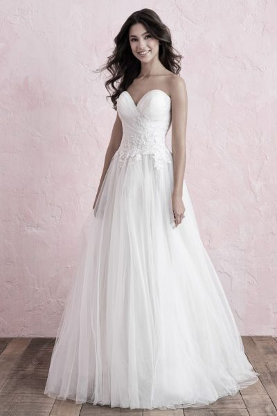 Allure Bridals Lori G Derby wedding dress style 3263