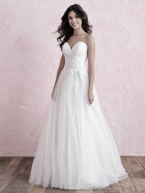 Allure Bridals Lori G Derby wedding dress style 3263