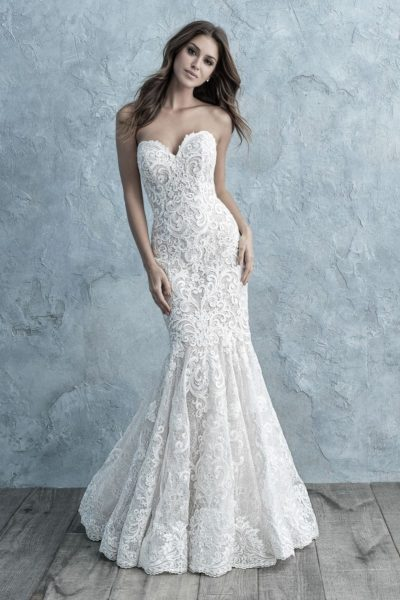 Allure Bridals Lori G Derby wedding dress style 9666
