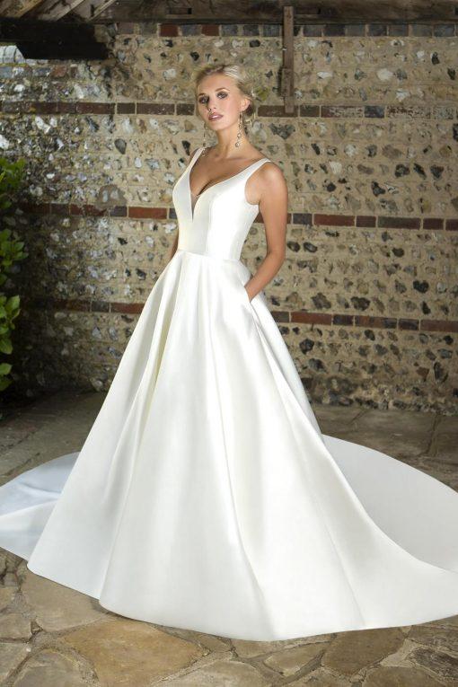 True Bride Lori G Derby wedding dress style Austin w351