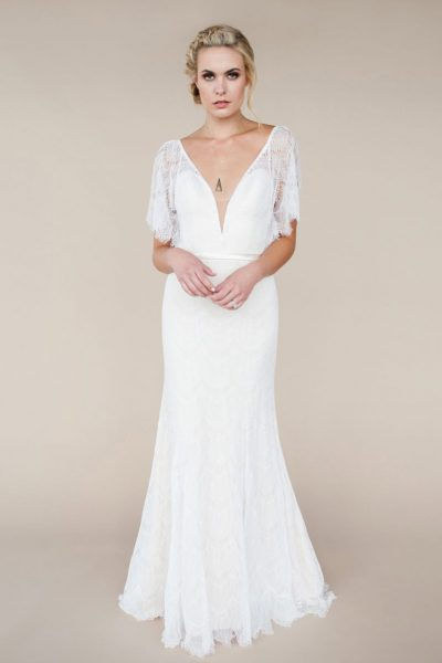 sadie from lori g bridal wedding dress derby