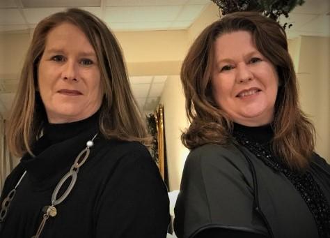 Lorraine and Sandra