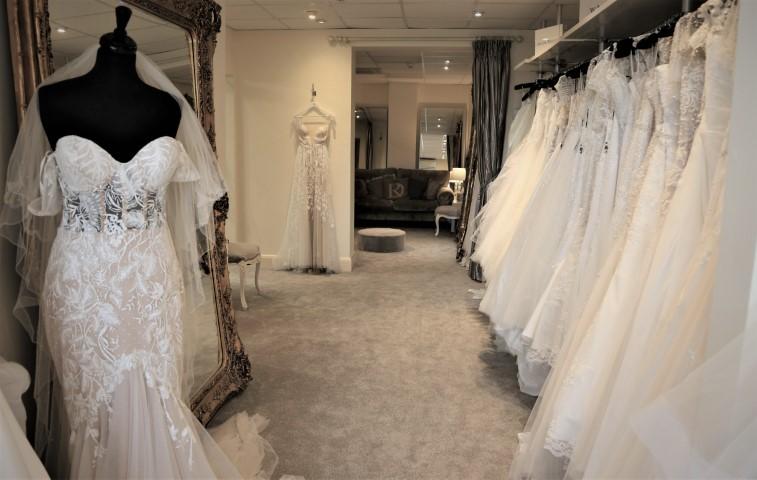 lori g bridal studio interior