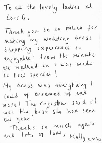 Lori G Bridal Derby Thank You Card (7)